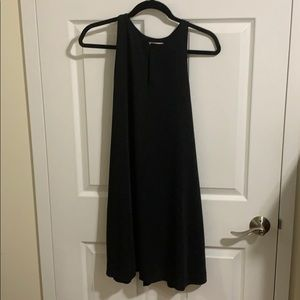 Loft Black Trapeze Dress